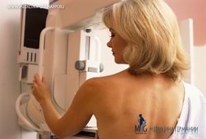 Рак груди у женщины